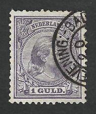 Nederland 1891 NVPH 44 met kleinrondstempel SCHEVENING:-BADH: