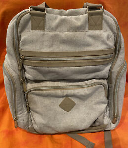 Ergobaby Anywhere I Go Backpack Out For Adventure Diaper Bag Beige