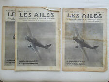 AILES 1938 897 TIPSY VUILLEMIN AMIOT 340 HYDRAVION MACCHI TAUPIN COULAUD POU