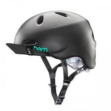 Bern Satin Black 2015 Berkeley Zipmold-flip Visor Womens MTB Helmet
