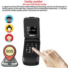 Unlocked Black World Mini Ultra Thin Smallest Flip Mobile Phone Well Made