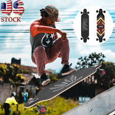Complete Skateboard Cruiser For Cruising, Free-Style And Downhill Longboard US
