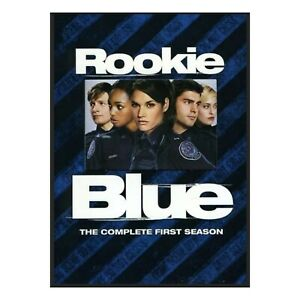 Rookie Blue Complete First Season Series 1 (DVD, R1, 4 Discs) Police Drama New