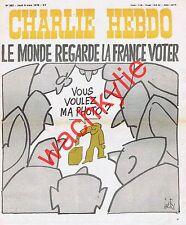 Charlie Hebdo n°382 du 09/03/1978 Élections Gébé Paris