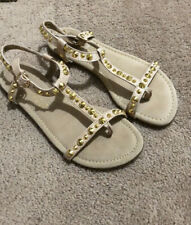 Very Volatile Tan Jejune Stud Sandals 6