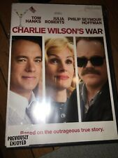 New DVD CHARLIE WILSON'S WAR Tom Hanks Julia Roberts Philip Seymour Hoffman