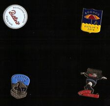 Exceptionally Rare Butlins Badges -Boxed