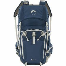Genuine Lowepro Rover Pro 35L AW backpack (Galaxy Blue with Light Gray Trim)