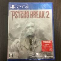 Psycho Break 2 Initial Limited Benefits THE LAST CHANCE PACK  PS4 Game Japan