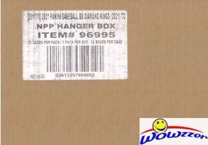 2021 Panini Diamond Kings Baseball EXCLUSIVE Factory Sealed HANGER 36 Box CASE