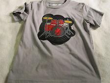 Think/Geek Electronic Drum Kit Shirt size Boys Small Gray Grey ~ 0112
