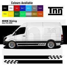 Side Stickers Graphics Stripes Decals For Mercedes Sprinter Camper Van Motorhome