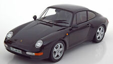Norev 1993 Porsche 911 993 Carrera Coupe Black Metallic LE 1500 1:18*New!