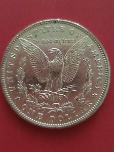 1898 Morgan Silver Dollar United States of America USA (900 Silver)
