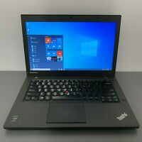 "Lenovo ThinkPad T440 14"" Core i5-4300U 1.9GHz, 4GB RAM, 500GB HDD, WIN-10 PRO."