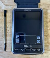 """Sony CLIE PEG-SL10/U 2.8"""" LCD Handheld device PDA Personal Case & Stylus Tested"""