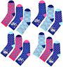 Girls Unicorn Socks 3 Pairs Kids Ankle Rainbow Socks UK Size 3-5 6-8 9-12 12-3