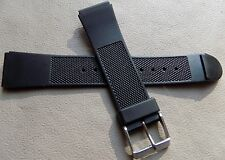 Mens Timex Water Resistant Sport 19mm Watch Band Fits Digital, Sport, Diver etc.
