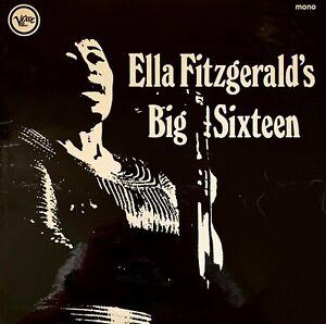 Ella Fitzgerald - Ella Fitzgerald's Big Sixteen (LP) (VG/G-VG)