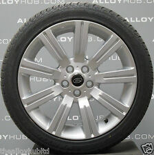 "GENUINE RANGE ROVER SPORT STORMER 20""INCH ALLOY WHEELS WITH HANKOOK TYRES X4"
