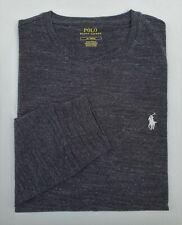 Polo Ralph Lauren Men Long Sleeve Pony Logo T-shirt 100 Cotton XL