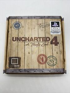 Uncharted 4 A Thiefs End Loot Crate Exclusive PS4 Wallet & Coin Rare s1