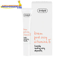 ZIAJA VITAMIN E EYE CREAM ALL TYPES OF MATURE SKIN 15ml   00965