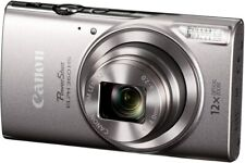 Canon PowerShot ELPH 360 Digital Camera Wi-Fi & NFC Enabled (Silver)