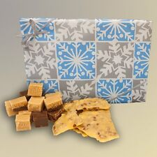 Deluxe Christmas Fudge and Peanut Brittle Gift Box - Hall's Candies
