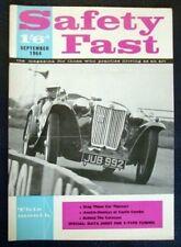 BMC Safety Fast MAGAZINE SETTEMBRE 1964 vol 6 n. 9.