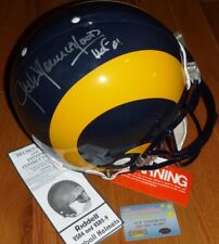 JACK YOUNGBLOOD AUTOGRAPHED HOF 01 SIGNED LA RAMS PROLINE HELMET MM COA HOLOGRAM