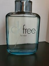 CK Free by Calvin Klein for Men 3.4 oz EDT Spray (Tester) used a few times