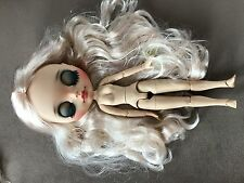 OOAK Blythe custom NUDE Fortune Body doll Puppe + hair reroot !!!