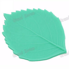 Moldes De Silicona Leaves Candy Jello 3D Silicone Leaf Cake Mold Mat Silicon Dec