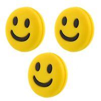 Smiley Face Tennis Racket Anti Vibrator Vibration Dampener Sporting Goods New