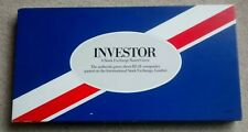 INVESTOR STOCK EXCHANGE BOARD GAME 1984 VINTAGE - NEW GAME IN EXCELLENT COND