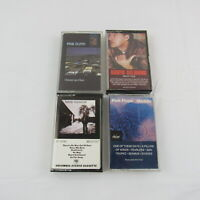 Pink Floyd David Gilmour Cassettes Lot of 4 Meddle A momentary Lapse of Reason..