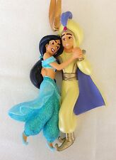 DISNEY Parks Princess Jasmine and Prince Aladdin Christmas Ornament NWT