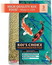 3LB Kaytee Koi Fish Food, Pellets For Koi, Goldfish and Other Pond Fish