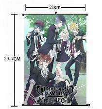 Hot Japan Anime DIABOLIK LOVERS Yui Whole Art Home Decor Poster Wall Scroll 08