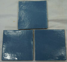 90 Ceramic Mexican Wall Tile Hand Painted-Made Mexico Terracotta Tiles R21
