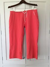 O'Neill Boardbabe cropped trousers - size m red