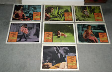 SCREAM OF FEAR/TASTE OF FEAR orig HAMMER lobby cards CHRISTOPHER LEE/ANN TODD