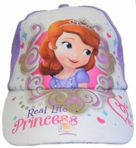 Sofia Princess Little Girls Baseball Hat Cap Kids Children Toddler Gift Toy Pink