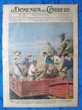 La Domenica del Corriere 22 luglio 1934 Mussolini - Alpini - Caterina Sforza