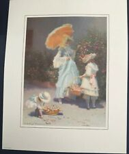 Victorian Garden Mother Flowers Signed Limited Print by James Verdugo 220/550