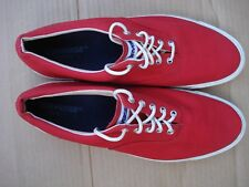 Converse Skidgrip Mens Size 13 Red Slightly Worn Made In U.S.A.