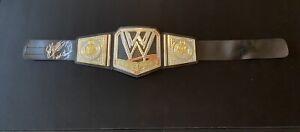 SGT SLAUGHTER signed autograph WRESTLING Championship Mattel BELT WWE ~