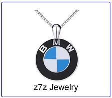 BMW Logo Boucle d/'Oreille//Collier Set-Auto Voiture Emblème femmes Dangle Bijoux z7qq