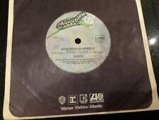 """Queen - Bohemian Rhapsody/I'm In Love With My Car (7"""" vinyl Elektra Australian)"""